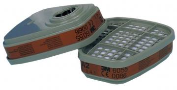 3m 6055 A2 Organik Gaz Buhar Filtresi