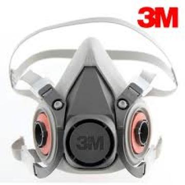 3m 6200 Yarım Yüz Gaz Maskesi