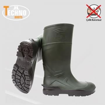 Techno Boots İş Çizmesi Çelik Burunsuz
