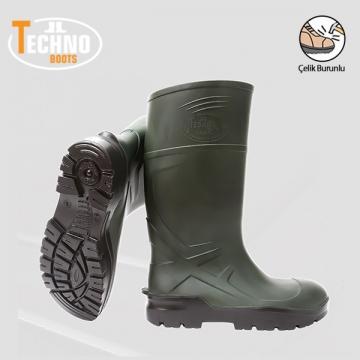Techno Boots İş Çizmesi Çelik Burunlu
