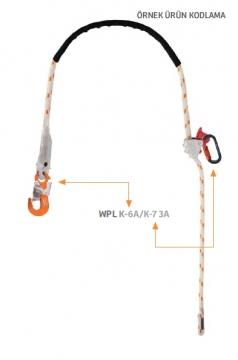 WPL K-6/K-7 3A Konumlandırma Lanyardı 3,00MT