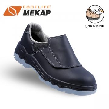Mekap 096 Kapaklı Kaynakçı Ayakkabısı