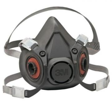 3M 6300 Yarım Yüz Gaz Maskesi
