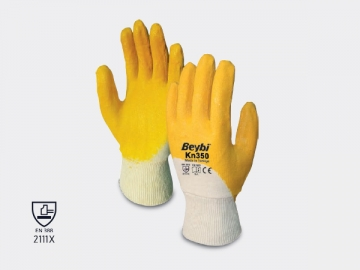 Beybi KN350 Nitril Sarı İş Eldiveni