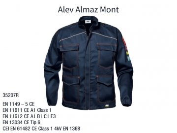 Alev Almaz Anti Statik Takım